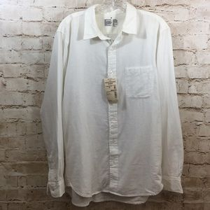 Muji Organic Cotton Gauze Shirt Sz. Men's M NWT